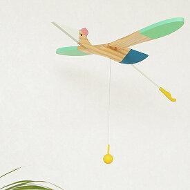 【クーポン配布中】 モビール 鳥 木製 eguchi toys Mobile Bird Mini bird 羽ばたく 動く 子供部屋