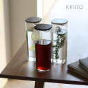KINTO キントー OVA ウォーターカラフェ 1L(カラフェ 麦茶ポット 麦茶 耐熱 洗いやすい おしゃれ 食洗機 ティーポット ボトル お茶 ピッチャー 冷蔵庫 容器 1リットル ガラス風 ドア ポット 水出し プラスチック 食洗器)