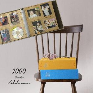 1000枚アルバム THE PHOTOGRAPH LIBRARY 1000(フォトアルバム おしゃれ アルバム 大容量 写真アルバム フォトブック L版 写真 ポケットアルバム 手作り プレゼント 1000枚 収納 台紙 簡単)