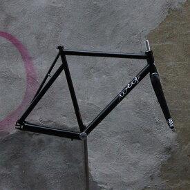 ピストバイク フレーム Weis Manufacturing Hammer Steel BK ウェイスマニュファクチュアリング ハマー スチール ブラックPISTBIKE