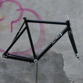 ピストバイク フレーム Weis Manufacturing Hammer Aluminum BK ウェイスマニュファクチュアリング ハマー アルミ ブラック PISTBIKE