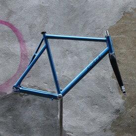 ピストバイク フレーム Weis Manufacturing Hammer Aluminum BL ウェイスマニュファクチュアリング ハマー アルミ ブルー PISTBIKE