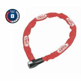 ピストバイク ロック 鍵 カギ ABUS STEEL O CHAIN 880/85 RED アブス アバス スチールオーチェーン レッド 赤【ロードバイク ピストバイク クロスバイク 自転車 バイク 硬い チェーンロック 安心 安全 おしゃれ 通勤 通学】