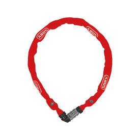 ピストバイク ロック 鍵 カギ ABUS 1200/110 RED アブス アバス レッド【ロードバイク ピストバイク クロスバイク 自転車 バイク 硬い チェーンロック 安心 安全 おしゃれ 通勤 通学】
