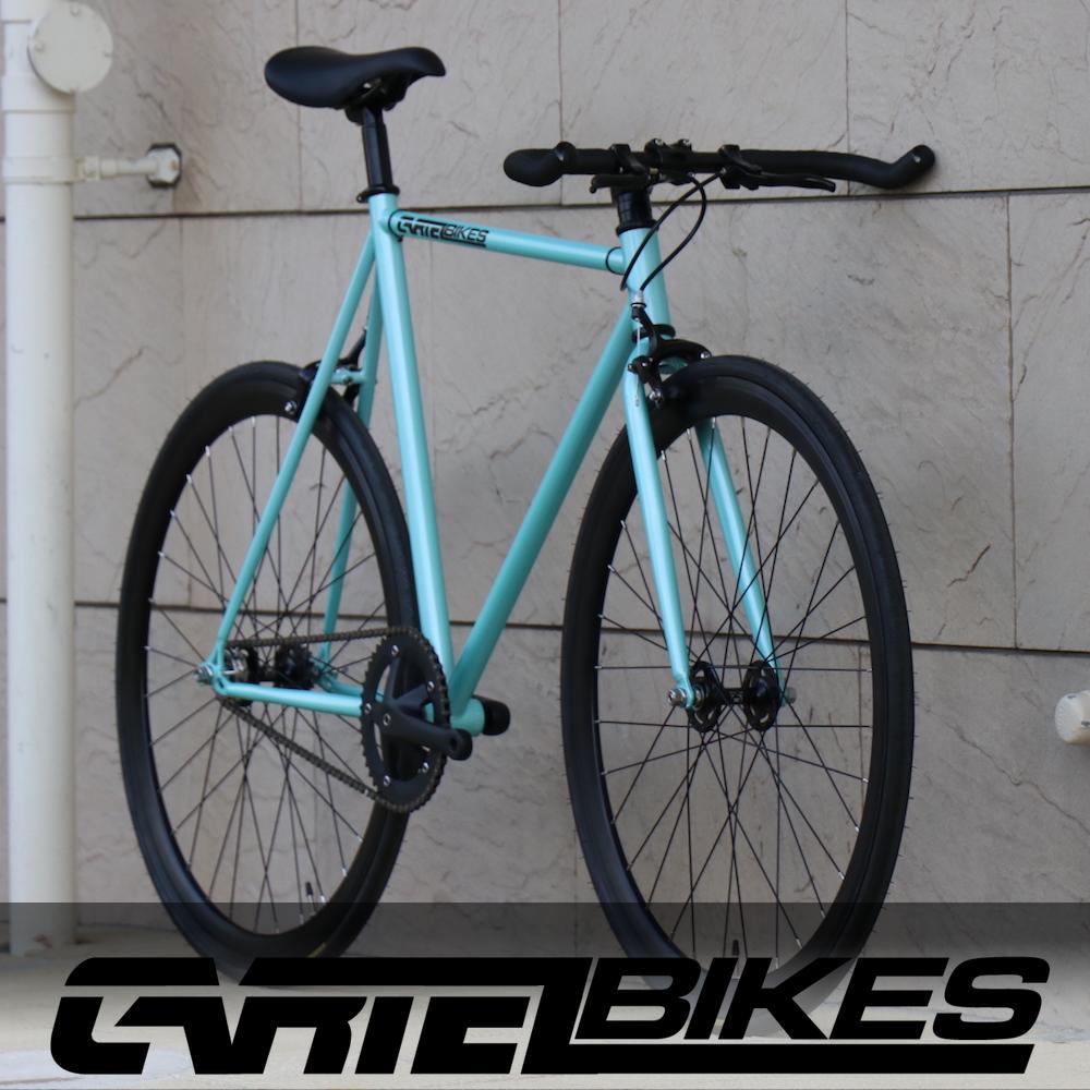 ピストバイク 完成車 カーテルバイク CARTEL BIKE AVENUE LO SKY BLUE