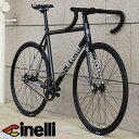 ピストバイク 完成車 チネリ CINELLI TIPO PISTA ティポ ピスタ ティーポ ピスタ グレー【自転車 バイク スポーツバイ…
