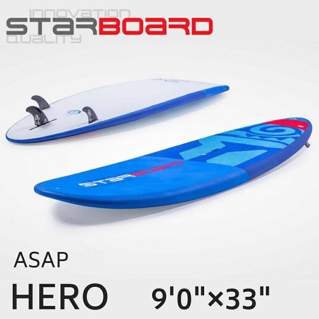 """2019 STARBOARD スターボード HERO 9'0""""×33"""" ASAP サップ SUP【サップボード パドルボード supボード スタンドアップパドル スタンドアップパドルボード マリンスポーツ サーフィン】"""