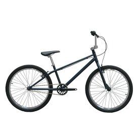 【セール】BMX 完成車 トラッカーズ TRUCKERS TWO FOUR NAVY【スポーツバイク スポーツサイクル 完成品 自転車 24インチ シティサイクル シティーサイクル 街乗り クルーザー バイク カスタム カスタムバイク ベース オリジナル ストリート 初心者 シンプル ネイビー】