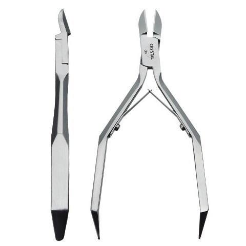 ネイルニッパークリスタル NP-4010 爪切り 爪ヤスリ付 専用ケース付