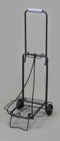 フィールドキャリーSFCR-30折りたたみ式キャリーカート付属のゴムロープで荷締め可能荷物の運搬・キャンプやアウトドア使用に