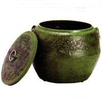 鋳物製火消し壺(火消しつぼ)大灰皿兼用使用した炭を安全に消火!七輪や火鉢で使った墨を再利用できます!頑丈で安定感も抜群