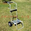 【送料無料】(沖縄県を除く)アルミ製 背負い動噴用 運搬台車 ※背負い動噴機は商品に含まれません。