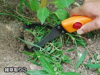 グランドHipper替刃式オレンジTS085ガーデニング・農作業のオシャレアイテム草刈り・草削り・土掘り等として使えます!女性にも使いやすい軽量タイプ日本製