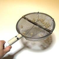丸型銀杏煎り木柄落花生煎り・豆煎りなどにも使えます!