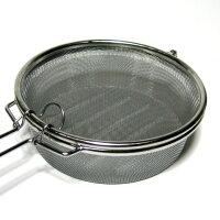焙煎職人径13cmローズ柄コーヒー豆の自家焙煎に!銀杏煎り・豆煎り・ゴマ煎りなどにも使えます!18-8ステンレス製日本製