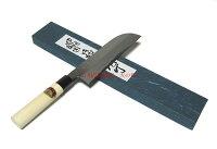 江戸菊水鎌型薄刃包丁磨210mm(片刃)黒プラ桂木柄620990