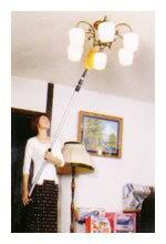吹抜け・天井ハイクリーナーSV-1303拭く・払う・吸い取る2段階伸縮式天井ほうき