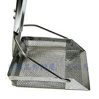グリストラップ清掃機幅160mm柄1000mm厨房用グリストラップの清掃作業に底に沈んだヘドロをスイスイキャッチ!ステンレス製で丈夫でサビにくい!