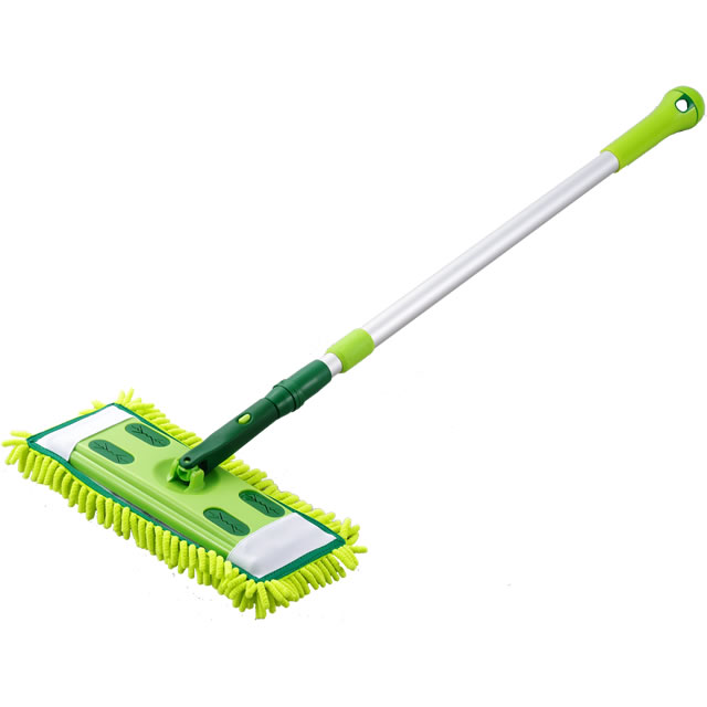 Amazing Telescopic Winding Microfiber MOP SV 3895 Floor MOP Microfiber Can Bend The  Flexible Catch Small Dust! Commercial Flooring Sheets Can Be Installed!
