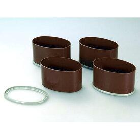 テーブル・こたつの脚の継ぎ足し用 幅広サイズ用 NEWハイヒールワイド 4個組 H-651