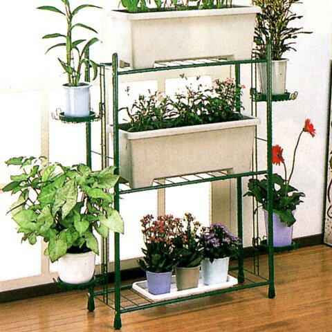 Planter Stand K 100 Pot Plants And Planteru0027s Communal Garden Rack Steel  Small Flower Stand Japan Made
