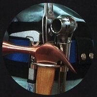 カクイ工具ホルダー細巾タイプ(クリップ式)[ハンマー差し]No.8-C落下防止リング付き