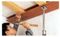 つっぱり相棒(台座付つっぱり棒)1600〜2900mmに伸縮!自在台座で滑りにくい伸縮式の作業用突っ張り棒仮止め・接着・圧着、内装工事などに便利です!
