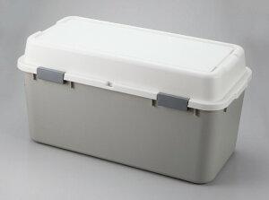 【大型商品】AS ホームボックス880 ライトグレー