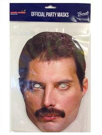 【Queen/クイーン】フレディ・マーキュリー パーティーマスク【Freddie Mercury】(QFMER01)【スポーツ ホビー】【店頭受取対応商品】