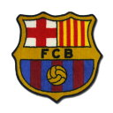FCバルセロナ オフィシャル エスクードマット 【サッカー サポーター グッズ】【店頭受取対応商品】