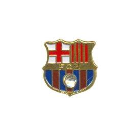 FCバルセロナ グッズ オフィシャル ピンバッジ クレスト 【サッカー サポーター グッズ】【店頭受取対応商品】
