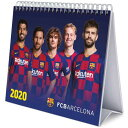 FCバルセロナ オフィシャル 2020 卓上 カレンダー【サッカー デスクトップ カレンダー】【店頭受取対応商品】