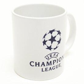 UEFAチャンピオンズリーグ オフィシャル マグカップ(ホワイト)【サッカー サポーター グッズ】(305022)【店頭受取対応商品】