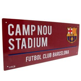 FCバルセロナ オフィシャル ストリートサイン Colour【サッカー サポーター グッズ】【店頭受取対応商品】