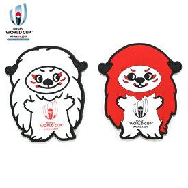 ラグビーワールドカップ2019(TM) オフィシャル ラバーマグネット レンジー【ラグビー グッズ 雑貨 Ren-G】【店頭受取対応商品】