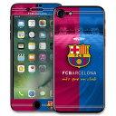 FCバルセロナ オフィシャル iPhone 7 スキンシール【サッカー モバイル スマートフォン アクセサリー スマホシール】【店頭受取対応商品】