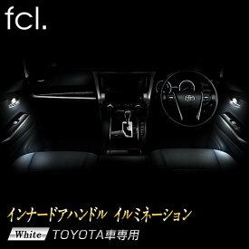 fcl インナードアハンドル イルミネーション C-HR ヴォクシー ノア エスクァイア アルファード / ヴェルファイア 30系 プリウス50系 車種をお選びください
