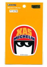 MICHELIN(ミシュラン)ステッカー ヘルメット【シール キャラクター】