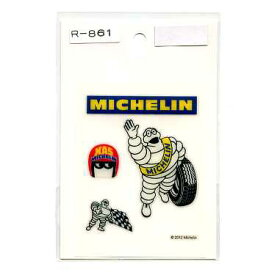 MICHELIN(ミシュラン)ミニステッカーセット【ビバンダム タイヤメーカー】