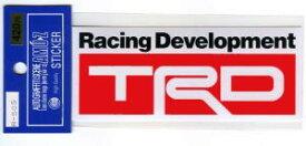 TRDステッカー(TOYOTA RACING DEVELOPMENT)【レーシング デカール シール】