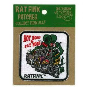 RAT FINKワッペン(FAT BOBS)【イラスト キャラクター】