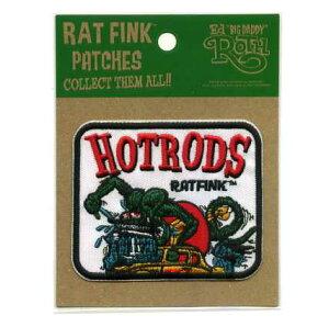 RAT FINKワッペン(HOT RODS)【イラスト キャラクター】