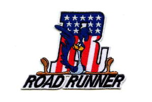 ROAD RUNNER(ロードランナー)ワッペン USA【イラスト キャラクター】