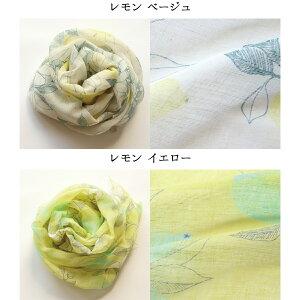 【linen】麻ストール花・植物柄(4165)UVカットリネンフランダース地方花柄植物柄母の日ギフトプレゼント麻綿リネンコットン日本製伝統技術職人