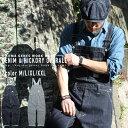 デニム&ヒッコリー オーバーオール アメカジ定番クロス、古くから愛されるベーシックなつくりのオーバーオール。 児…