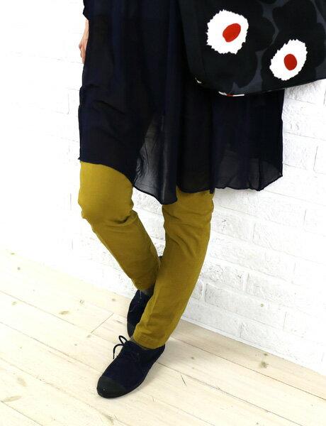【30%OFF】D.M.G(ドミンゴ)コットン ポリウレタン ストレッチ スリム トラウザーパンツ・13-737T-1271502【レディース】【JP】