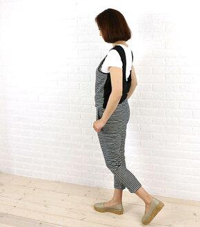Kelen (ケレン) dobby knit linen reshuffling jumpsuit salopette all-in-one, LKL15HPT17-1571501