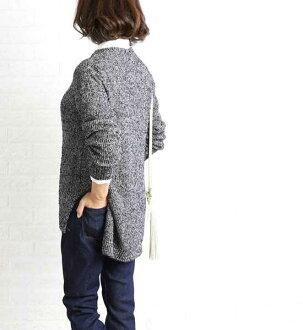 SACRA (cherry tree) cotton nylon boo clay yarn bottleneck pullover knit, SG534011-3341602