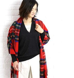 GALERIE VIE (gal Lee Vee) wool V neck pullover knit, 23-02-64-02602-0171602