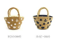 TheBagmati(バグマティ)バンカン刺繍入りミニかごバッグ・BBK16-02